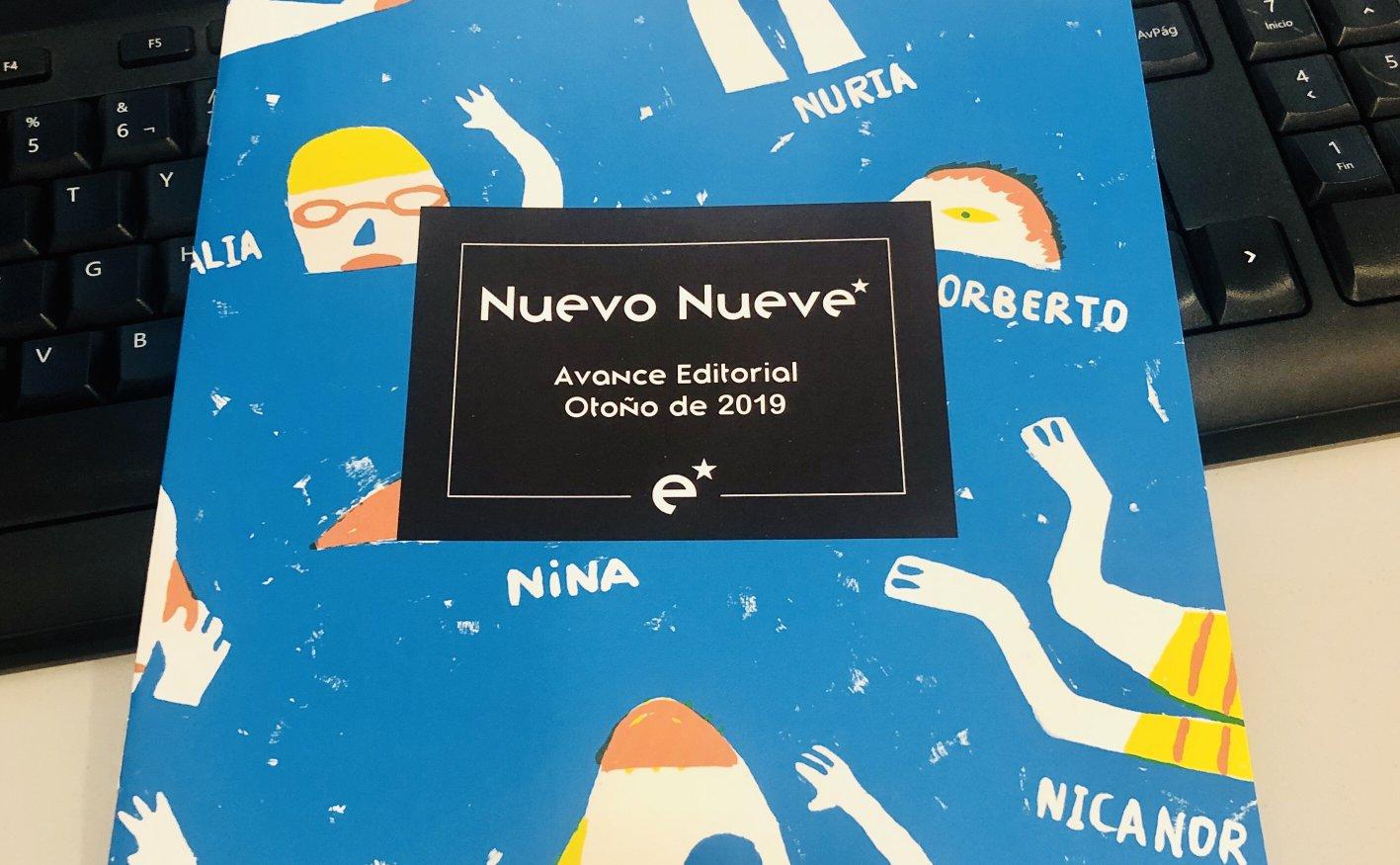 Avance Editorial de Nuevo Nueve para Otoño de 2019