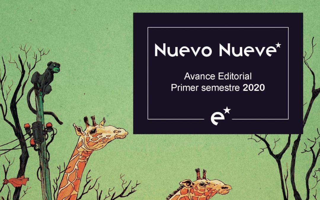 Avance Editorial Primer semestre 2020