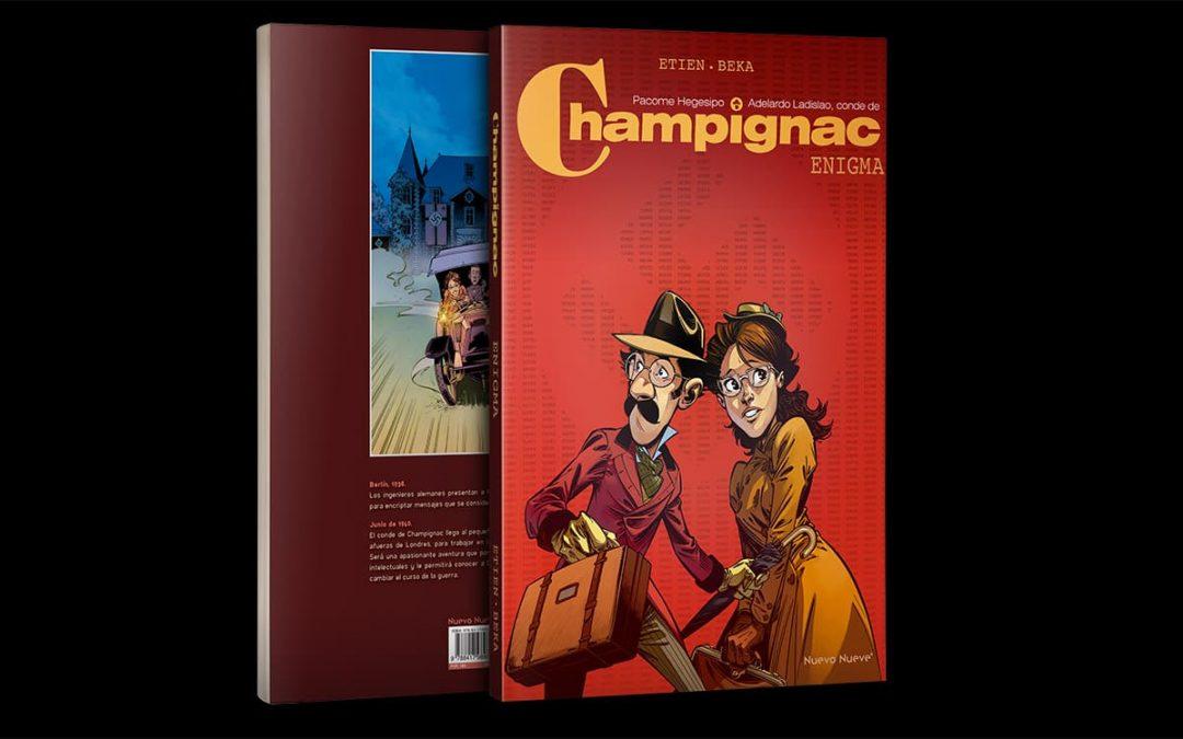 Primer número de la exitosa nueva serie del Conde de Champignac