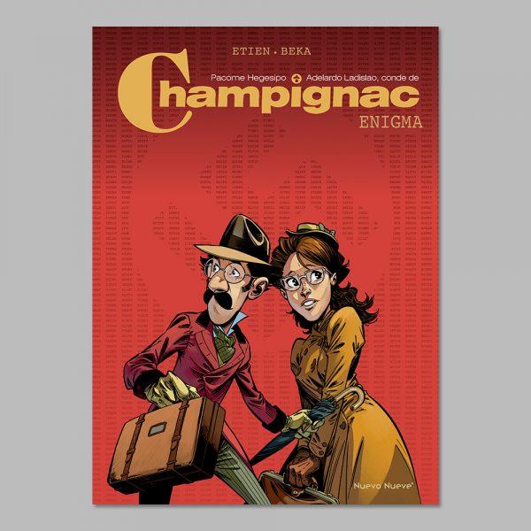 Reseña de Champignac - Enigma